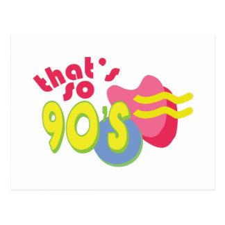Thats So 90s Postcard