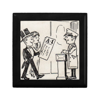 That's the Ticket - 1920s theatre cartoon Gift Box