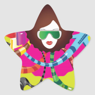 Thats the way we girls are !! star sticker