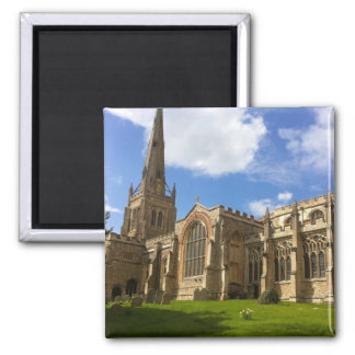 Thaxted Church, Essex Square Magnet