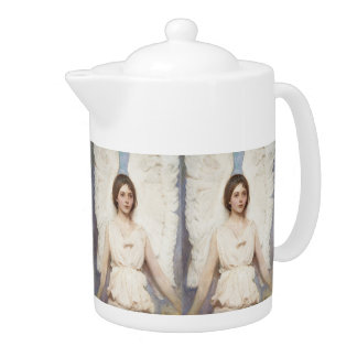Thayer's Angel art teapot