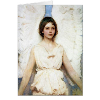 Thayer s Angel Greeting Card