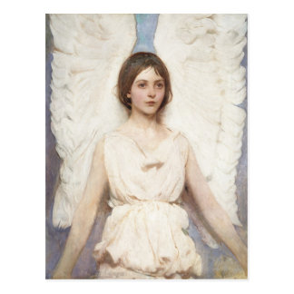 Thayer's Angel postcard