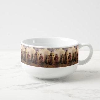 Thayer's Virgin art soup mug