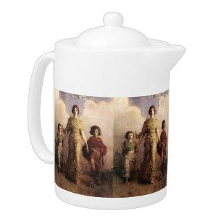 Thayer's Virgin art teapot