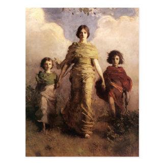 Thayer's Virgin postcard