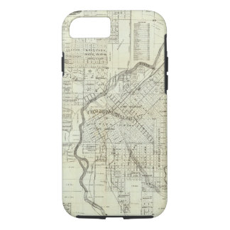 Thayer's Map of Denver Colorado iPhone 8/7 Case