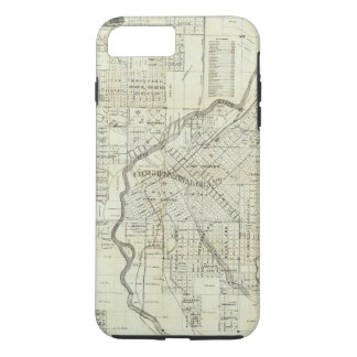 Thayer's Map of Denver Colorado iPhone 8 Plus/7 Plus Case