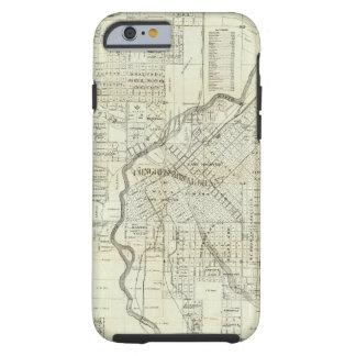 Thayer's Map of Denver Colorado Tough iPhone 6 Case