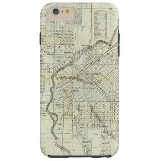 Thayer's Map of Denver Colorado Tough iPhone 6 Plus Case
