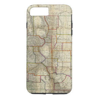 Thayer's New Map Of The State of Colorado iPhone 8 Plus/7 Plus Case