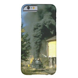 ThBlack smoke at Cresco tank,_Steam Trains Barely There iPhone 6 Case