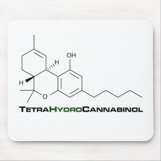 THC Weed Mouse Mat