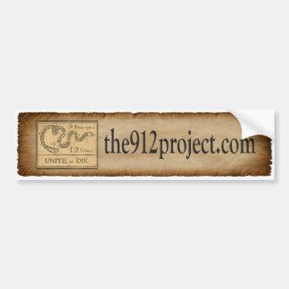the912project com Bumper Sticker unite or die