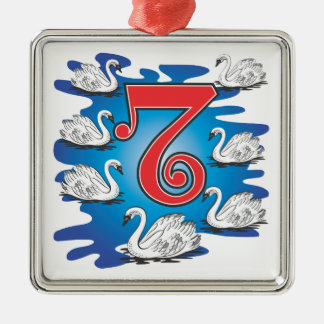 The 12 days of Christmas Christmas Ornament