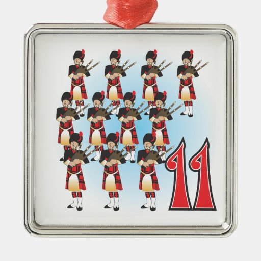 The 12 days of Christmas Ornaments | Zazzle