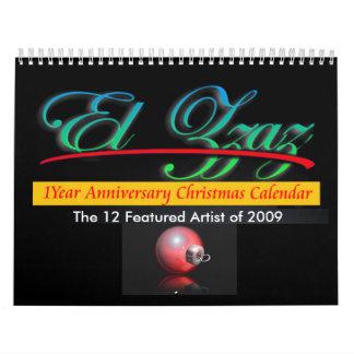 The 12 Featured Artist of 2009 Calendars