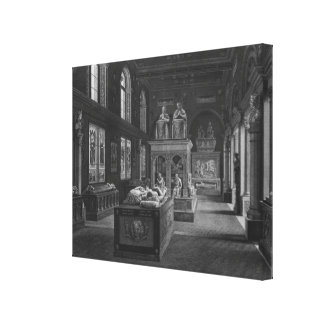 The 15th century room, Musee des Monuments Canvas Print