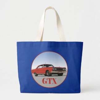THE 1967 RED GTX JUMBO TOTE BAG