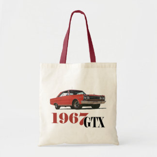 THE 1967 RED GTX TOTE BAG