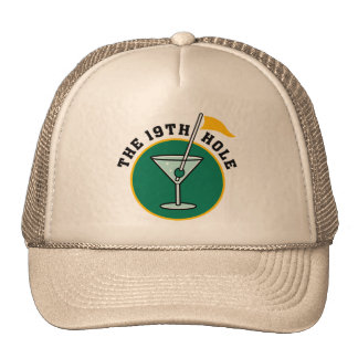 The 19th Hole Funny Golf Dadism gift Hat