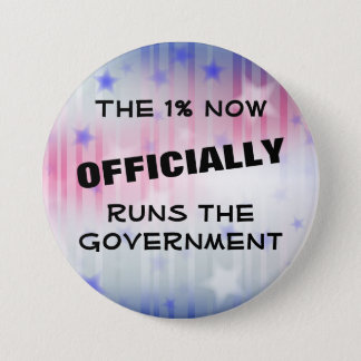 The 1% Government 7.5 Cm Round Badge