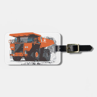 The #1 Hugely Giant Truck Luggage Tag