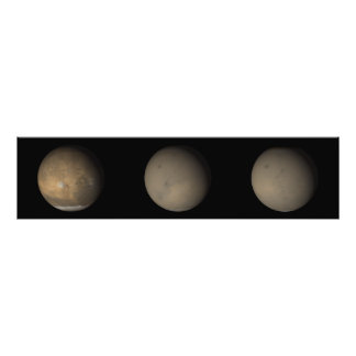 The 2001 Great Dust Storms on Mars 2 Photo Print