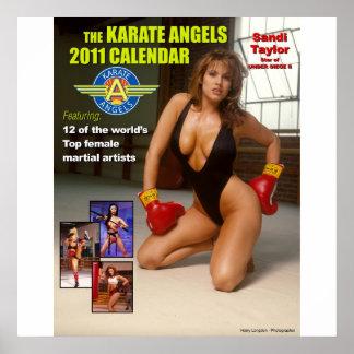 The_2011_Karate_Angels_Calendar Posters