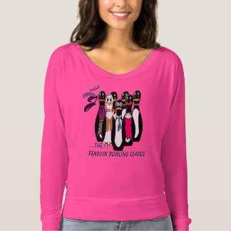 The 2016 Penguin Bowling League - Personalized T-Shirt
