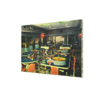 The 21 Club Casino, Hotel Last Frontier Canvas Print