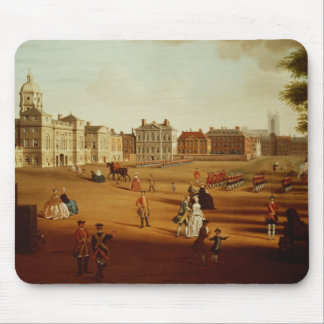 The 2nd Footguards  on Parade at Horse Guards' Mouse Pad