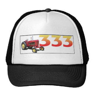 The 333 trucker hat