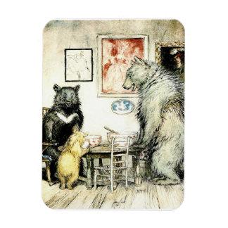 "The 3 Bears 3""x4"" Photo Magnet"
