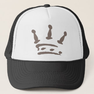 the 3 pawns trucker hat