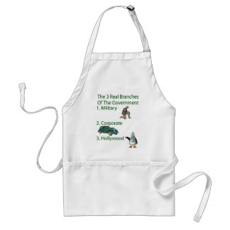 The 3 Real Branches Of The Government Standard Apron