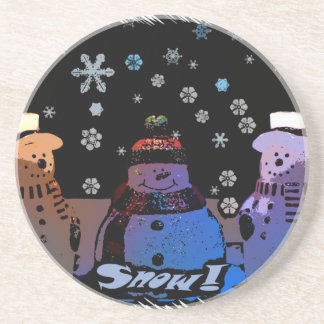 The 3 Snowmen Coaster