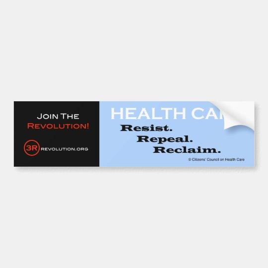 The 3R Revolution Bumper Sticker