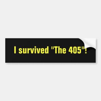 THE 405 bumper sticker