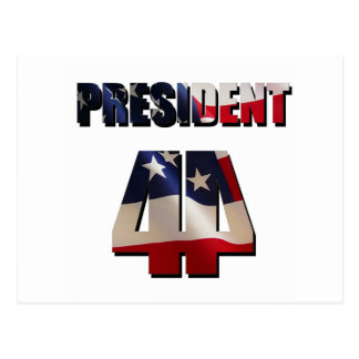 The 44th President Postcard
