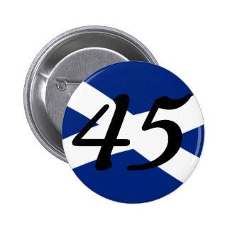 The 45 Movement! 6 Cm Round Badge