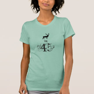 The 45 Scottish Independence Highland Stag T-Shirt