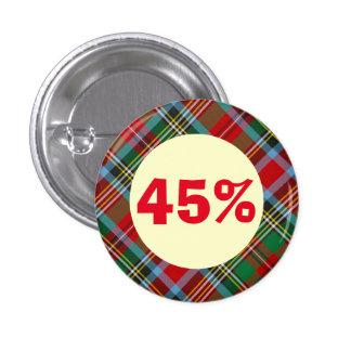 The 45 Tartan Scottish Independence Badge