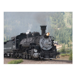 The 486 Leaving Silverton, Colorado Postcard