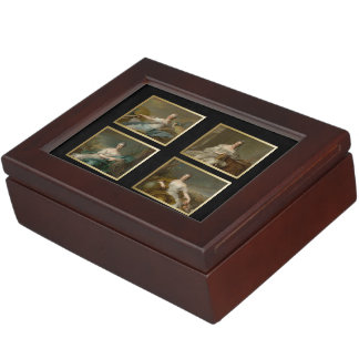 The 4 Elements-Air, Fire, Water, Earth Cards Box 2 Memory Boxes