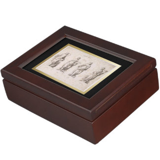 The 4 Elements-Air, Fire, Water, Earth Cards Box 4 Keepsake Boxes