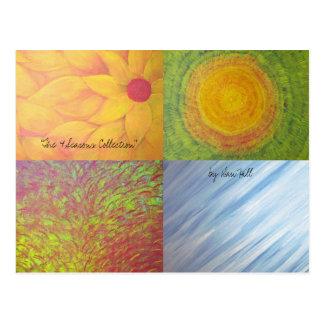 The 4 Seasons Postcard