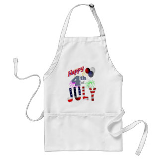 The 4th of July, Day of Independence Standard Apron