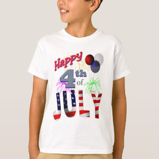 The 4th of July, Day of Independence T-Shirt