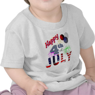 The 4th of July, Day of Independence Tshirt
